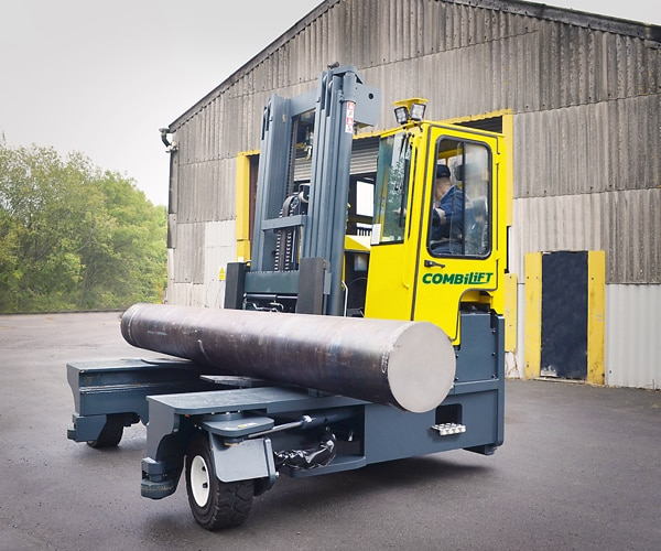 Combilift – Combi C-Series – Multi-directional Forklift – Long Load Handling - Speciality Metals - Heavy Load