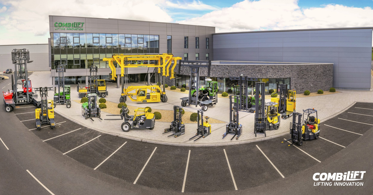 Combilift – Forklifts to Increase Warehouse Storage