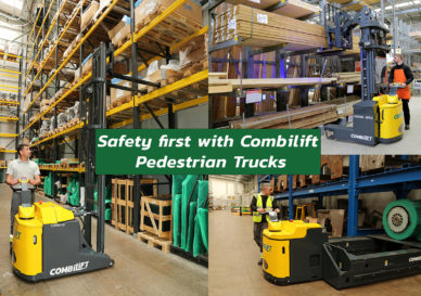 Safety first with Combilift Pedestrian Trucks